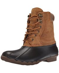 differently best service wholesale price Sperry Top-Sider Shearwater Snow Boot in Brown/Tan (Brown) - Lyst