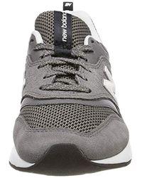 997H, Zapatillas para Mujer, Gris (Castlerock/White), 39 EU New Balance de color Multicolor
