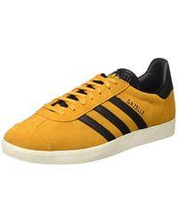 Gazelle, Baskets Basses Homme Adidas pour homme en coloris Yellow