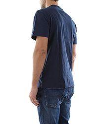 Tommy Hilfiger Essential Split Box Kurzarm T-Shirt in Blue für Herren