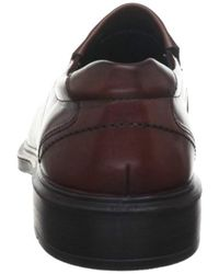 Ecco Brown Helsinki Slip-on,rust,44 Eu for men