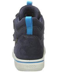 Ecco Jungen Glyder Hohe Sneaker in Blue für Herren