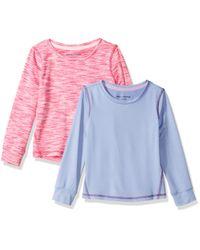 – Camiseta deportiva de manga larga para niña Amazon Essentials de hombre de color Multicolor