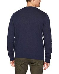 Lucky Brand Blue Golden Bear Sweatshirt for men