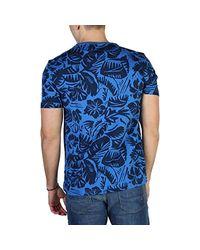 Tommy Hilfiger Blue T-shirt Mw0mw02336 Man for men