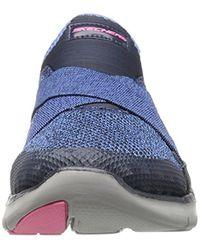 Skechers Blue Flex Appeal New Image Sneaker