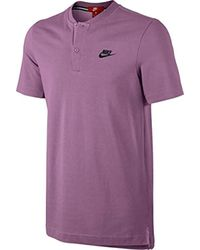 Nike Purple Polo for men