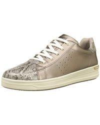 Geox Metallic Unisex-Erwachsene J Aveup Girl A Sneaker