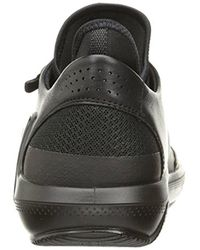 Ecco Black Intrinsic 3 Fashion Sneaker for men