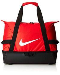 Academy Team Hardcase M Bolsa de Deporte, Unisex Adulto Nike de hombre de color Red