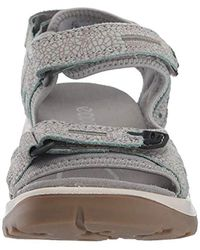 Ecco Gray Damen Offroad Sport- & Outdoor Sandalen