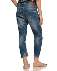 Type C 3D Loose Tapered Vaqueros para Mujer G-Star RAW de color Blue