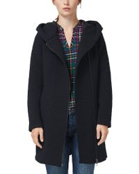 S.oliver Blue RED Label Double Face-tel mit Struktur Navy Peony 36