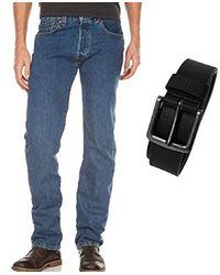 Levi's 501 Original Straight Jeans in Blue für Herren