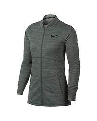 W NK Dry Hz, Veste de Sport Nike en coloris Green