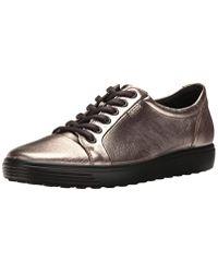 Ecco Gray Damen Soft 7 Ladies Sneaker
