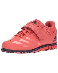 Adidas Red Powerlift.3.1 Cross Trainer, Trace Scarlet/trace Scarlet/noble Ink, 9 M Us