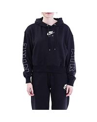 Felpa Misto Cotone Donna cod.CJ3082 BLACK SIZE:XS di Nike