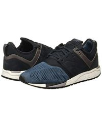 New Balance Leather Sneakers 247 Luxe Uomo Mod. Nbmrl247 in Blue ...