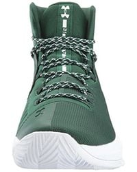 Under Armour Green Team Drive 4 Basketball Shoe for men