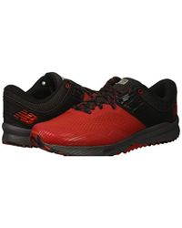 6c50a62f972fa New Balance Nitrel V2 Trail Running Shoes in Red for Men - Lyst