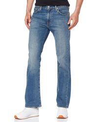 527 Slim Boot Cut Jeans di Levi's in Blue da Uomo