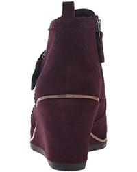 Franco Sarto - Purple Arielle Ankle Bootie - Lyst