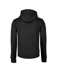 Superdry Orange Label Urban Panel Zip Hoodie, Black for men