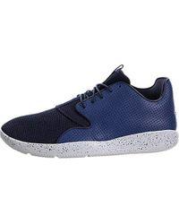 Nike Jordan Eclipse Hohe Sneakers, Weiß/Schwarz in Blue für Herren