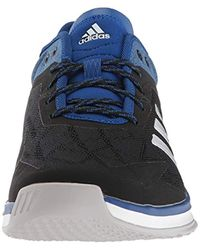 Speed Trainer 4 Baseball Shoe, Black/Crystal White/Collegiate Royal Adidas pour homme en coloris Multicolor