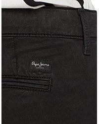 Maura PL211067 Pantaloni Donna, Grigio (Charcoal 987) 28W / 32L di Pepe Jeans in Gray
