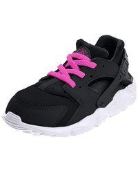 Huarache Run Nike en coloris Black