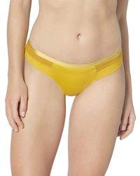 S Silhouette Brazil Panty Brief Nugget Gold (7403) CS Nugget Gold 48 di Sloggi in Yellow