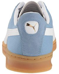 PUMA Blue Tk Indoor Summer Sneaker for men