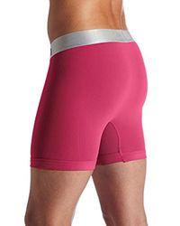 Calvin Klein Pink Underwear Steel Micro Boxer Briefs for men