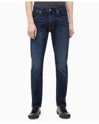 Calvin Klein Blue Slim Fit Jeans for men