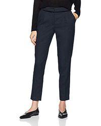Jhnp46d Pantaloni Donna, Blu (Bleu Marine 567) W36 (Taglia Produttore: 36) di Naf Naf in Blue