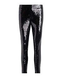 Michael Kors Black Leggings With Sequins