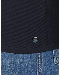 Tom Tailor Blue Für Frauen T-Shirts/Tops Multicolores T-Shirt