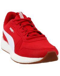 NRGY Neko Retro Casual Sneaker Size US 9 M Red/White PUMA pour homme