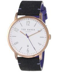 Orologio - - - TE50279003 di Ted Baker in Black da Uomo