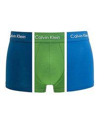 Lyst - - Low Rise Trunk - Boxer (Lot de 3) - Homme Calvin Klein pour ... 3b2b8c07590