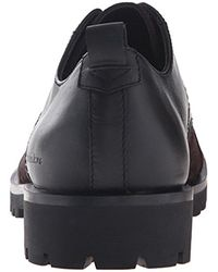 Calvin Klein - Black Ck Jeans Nox Oiled Suede Oxford for Men - Lyst