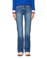 Edc By Esprit Blue 998CC1B825 Bootcut Jeans