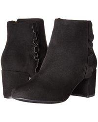 Rockport Black Tm Oaklee Ruffle B Ankle Boot