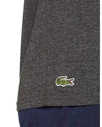 Lacoste Gray Pyjama Top for men