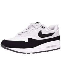 WMNS Air Max 1, Chaussures de Running Femme Nike en coloris Blanc ...