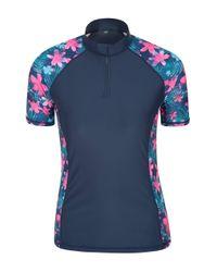 UV pour s avec col zippé Mountain Warehouse en coloris Blue