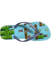 Havaianas Blue Mario Bros Sandal for men