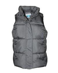 Pioneer Summit Heavy Puffer Vest di Columbia in Gray